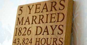 Подарок мужу на деревянную свадьбу