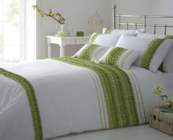 Красивое ситцевое постельное белье