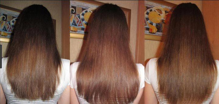 Маска для роста волос в домашних условиях фото до и после
