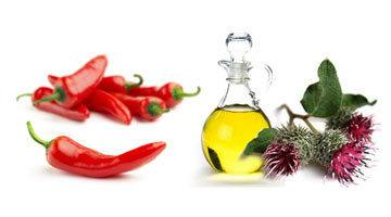 Маска для волос с красным перцем и репейным маслом