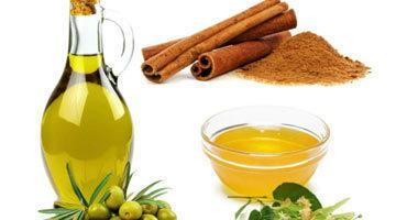 Маска для волос с медом, корицей, масло и простоквашей