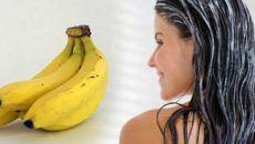 Маска с бананом для волос