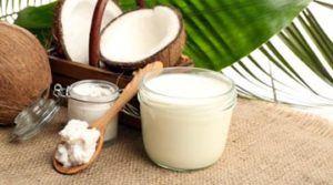 Маска с кокосовым маслом для волос