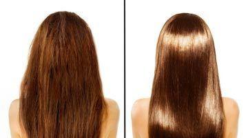 Фото до и после применения оливкового масла
