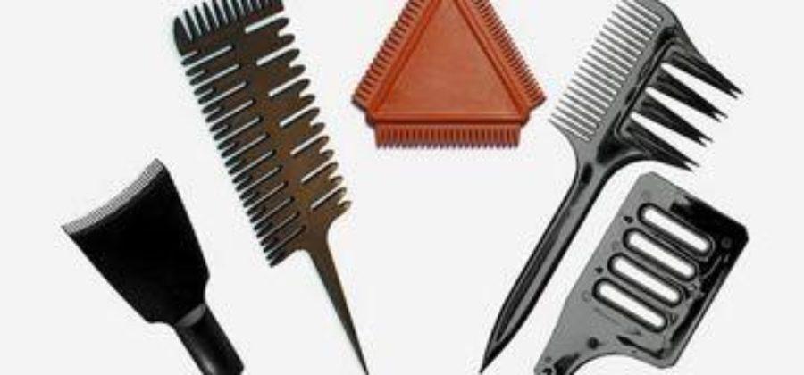 Расческа для мелирования – ее задачи и использование в окрашивании волос