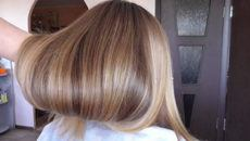 Брондирование на светлые волосы