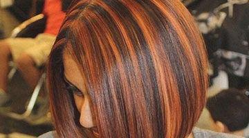 Мелирование на каштановые волосы