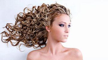 Мелирование на кудрявые волосы