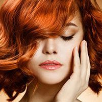 Мелирование на рыжие волосы – варианты окрашивания