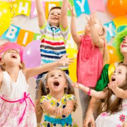 Детский день рождения: интересно, весело, активно