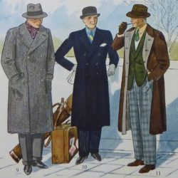История различных фасонов мужского пальто