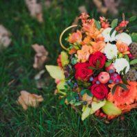 Осенний букет: несколько оригинальных идей